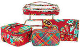 Vera Bradley Signature Print Travel Cosmetic Kit
