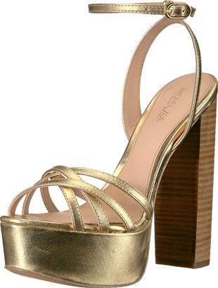 Rachel Zoe Gold Platforms | Shop the
