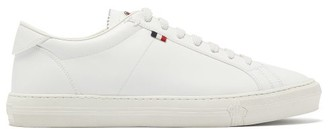 Moncler Monaco Leather Trainers - Mens - White
