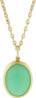 Irene Neuwirth Jewelry Limited Edition Mint Chrysoprase Pendant