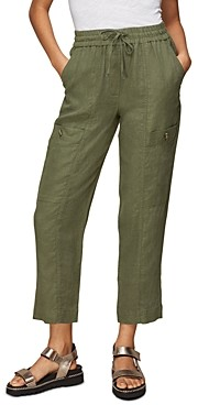 Whistles Linen Cargo Pants