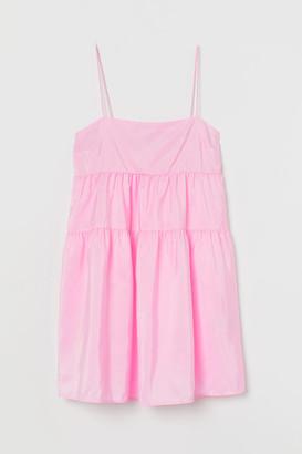 H&M Short taffeta dress