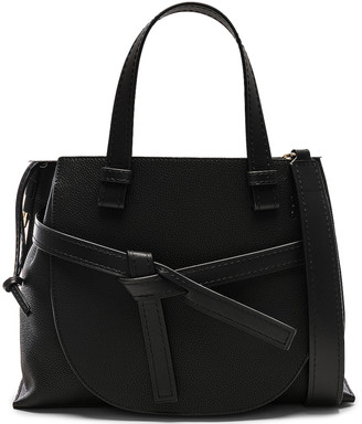 Loewe Gate Small Top Handle in Black | FWRD