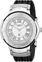Charriol Women's CE438SB655007 Celtic Analog Display Swiss Quartz Black Watch
