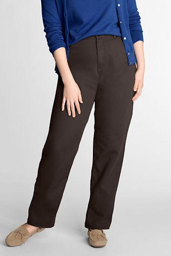 Lands' End Women's Plus Size Petite Fit 3 Colored Rigid Relax Jeans