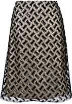 Bellerose embroidered midi skirt