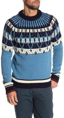 Scotch & Soda AMS Blauw Brushed Sweater