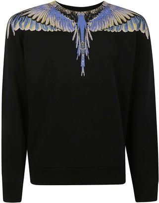 Marcelo Burlon County of Milan Wings Regular Crewneck Sweatshirt