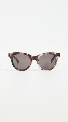 Illesteva Sicilia Blush Tortoise Sunglasses