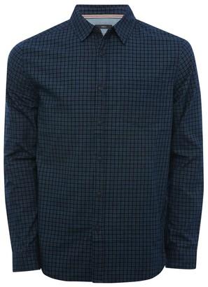 M&Co Blue check long sleeve shirt