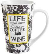 Pier 1 Imports Life Is What Happens Mug