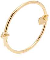 Marc by Marc Jacobs Heart & Key Hula Bangle