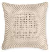 "Hotel Collection Dimensions Champagne 20"" Square Decorative Pillow, Created for Macy's"