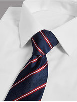Autograph Official England Pure Silk Striped Tie