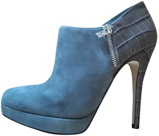 Michael Kors Grey Suede Ankle boots