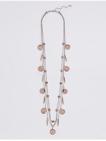 M&S Collection Charm Layer Necklace