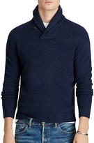 Polo Ralph Lauren Merino-Cashmere Shawl Collar Sweater