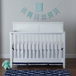 Centennial Suite Bebe Asher 4-In-1 Convertible Crib