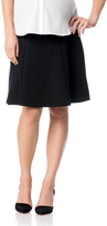 Motherhood Secret Fit Belly Fit And Flare Maternity Skirt