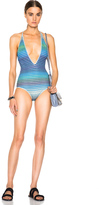 Missoni Mare Deep V Neck Swimsuit