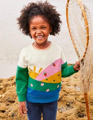 Boden Cosy Applique Sweatshirt