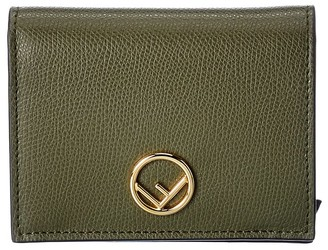 Fendi Small F Leather Wallet