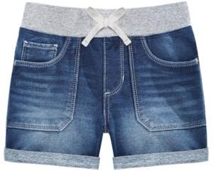 Imperial Star Big Girls Knit Denim Shorts