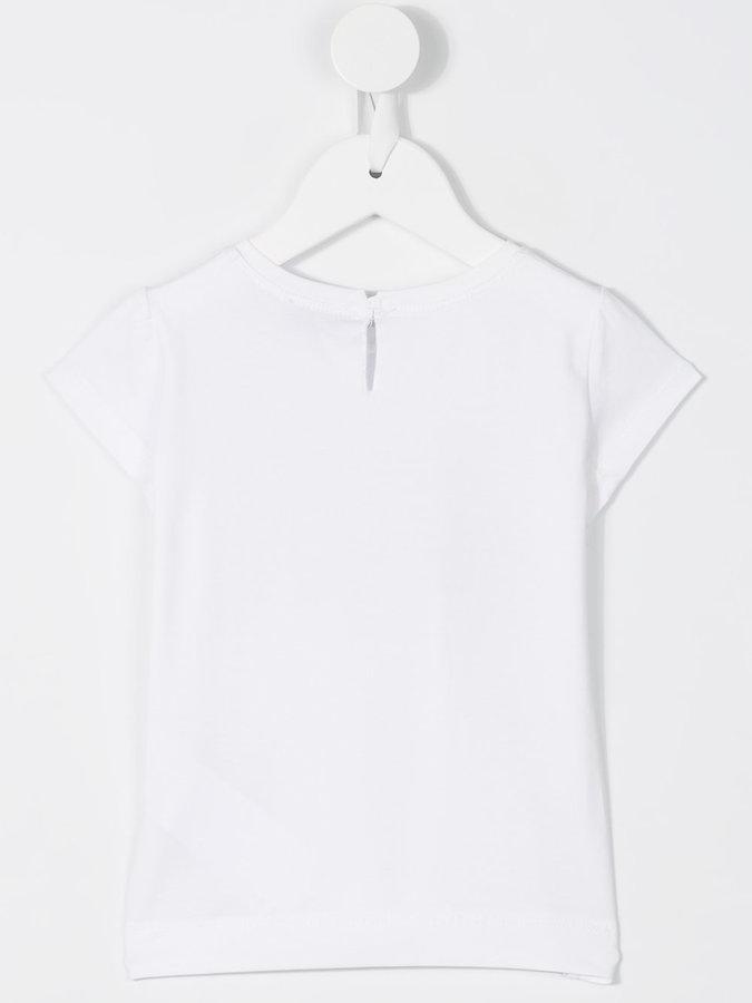 MonnaLisa rabbit print T-shirt