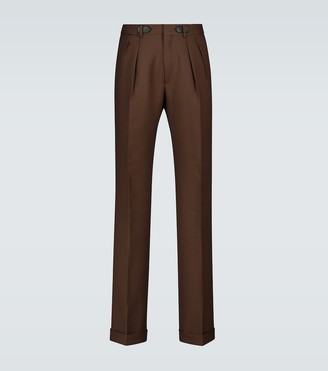 Tom Ford Exclusive to Mytheresa - Atticus double-pleated pants