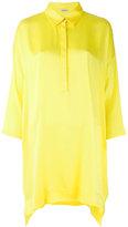 P.A.R.O.S.H. oversized blouse - women - Silk/Spandex/Elastane - S