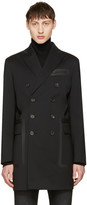 DSQUARED2 Black Chic Wool Coat