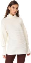 Victoria Victoria Beckham Funnel Neck Sweater