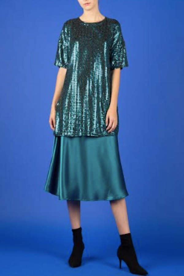 Timeless Blue Waters Tunic Top