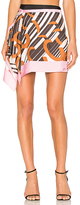 Carven Mini Skirt in Pink