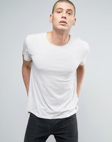 AllSaints T-Shirt with Drop Shoulder Detail