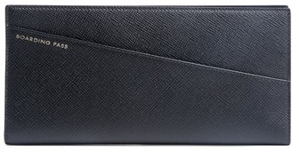 Smythson Panama grained-effect wallet