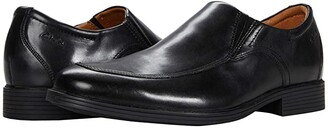 Clarks Whiddon Step (Black Leather) Men's Shoes