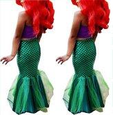 Aliven Baby Girls Little Mermaid Tail Bikinis Set Costume Swimwear Outfits Dress