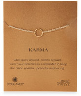 Dogeared Karma Halo Double Chain Bracelet