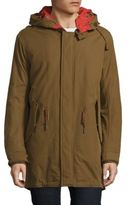 Cole Haan Military Oxford Hooded Parka