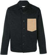Marni patch pocket shirt jacket - men - Cotton - 46