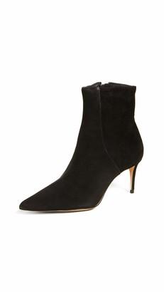 Schutz Women's Bette Suede Ankle Bootie Black