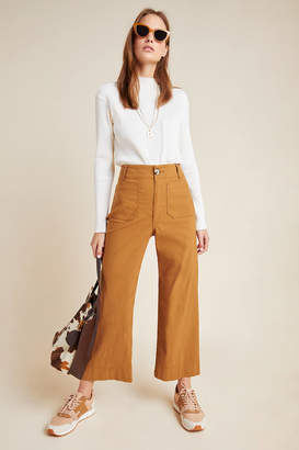 Anthropologie Wide-Leg Trousers