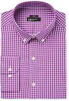 Bar III Men's Slim-Fit Stretch and Easy Care Mulberry Check Dress Shirt, Only at Macy's