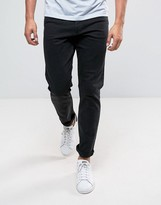 Weekday Sunday Tapered Fit Jeans Tuned Black Wash