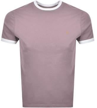 Farah Groves Ringer T Shirt Purple