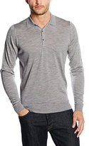 John Smedley Men's Tyburn Plain Long Sleeve Casual Shirt