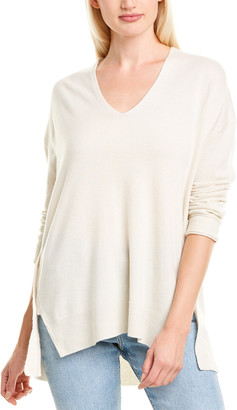 Inhabit Buttoned Cashmere Tunic