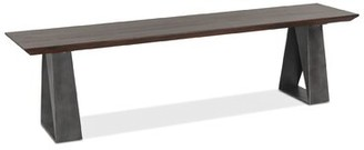 17 Stories Malti Solid Wood Bench
