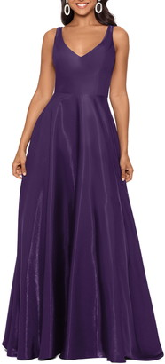 Xscape Evenings Shimmer Sleeveless Gown